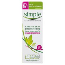Hidratante Simple Facial Fps15 125ml