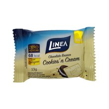 Chocolate Linea zero açúcar cookies`n cream 13g