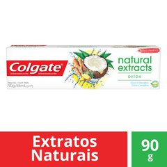 Gel Dental Colgate Natural Extracts Detox 90g