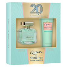 KIT Antonio Banderas queen of seduction eau de toilette 80ml + hydrating body lotion 75ml