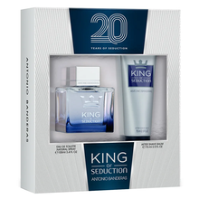 Kit Antonio Banderas King of Seduction eau de toilette 100ml + after shave balm 75ml