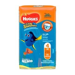 Fralda Huggies Little Swimmers M 11 Fraldas