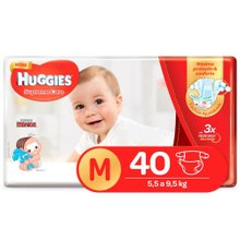 Fralda Huggies Supreme Care M 40 Fraldas