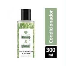 Condicionador Love, Beauty And Planet Energizing Detox Óleo de Melaleuca & Vetiver 300ml