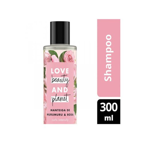 Shampoo Love, Beauty And Planet Curls Intensify Manteiga de Murumuru & Rosa 300ml