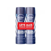 Kit 2 Desodorante Nivea Original Protect Aerosol 150ml - Leve mais Pague menos