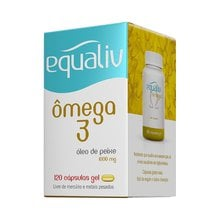 Equaliv Ômega 3 1000mg - 120 Cápsulas Gel