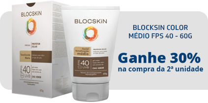 BLOCKSIN COLOR MÉDIO FPS 40 - 60G
