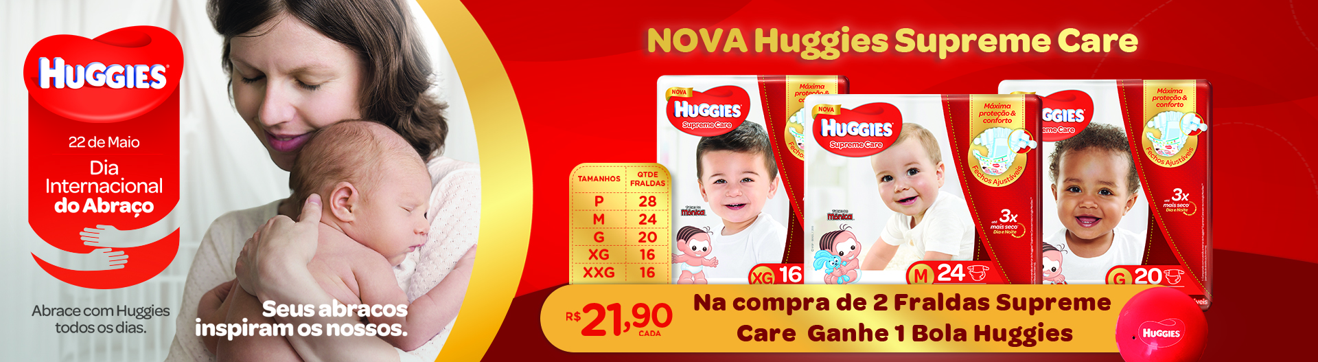 Fralda Huggies Supreme