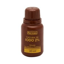 Tintura de Iodo 2% Farmax 30ml
