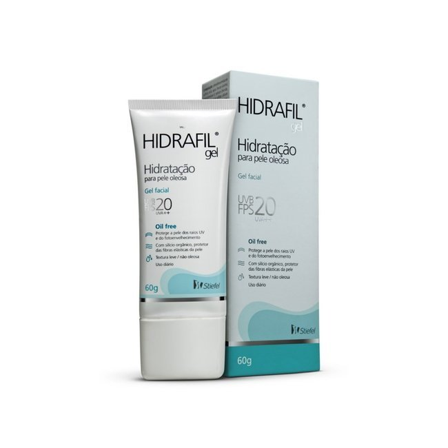 Hidrafil Gel Facial FPS 20 60g