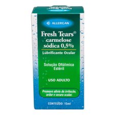 Fresh Tears 0,5% Colírio 15ml