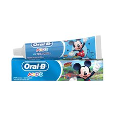 Creme Dental Infantil Oral B Kids Mickey com Flúor 50g