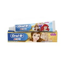 Creme Dental Infantil Oral B Kids Disney Princess com Flúor 50g