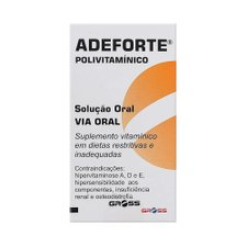 Adeforte Ampola Oral 3ml