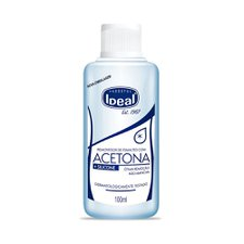 Removedor de Esmalte com Acetona Ideal 100ml