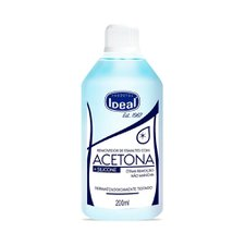 Removedor de Esmalte com Acetona Ideal 200ml