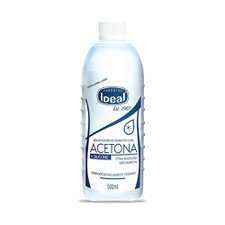 Removedor de Esmalte com Acetona Ideal 500ml
