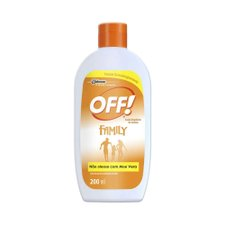 Repelente Off Family Loção 200ml