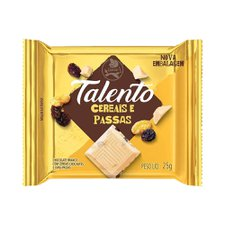 Chocolate Talento Mini Branco com Cereais 25g
