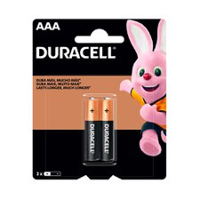 Pilhas Duracell AAA  com 2 Unidades