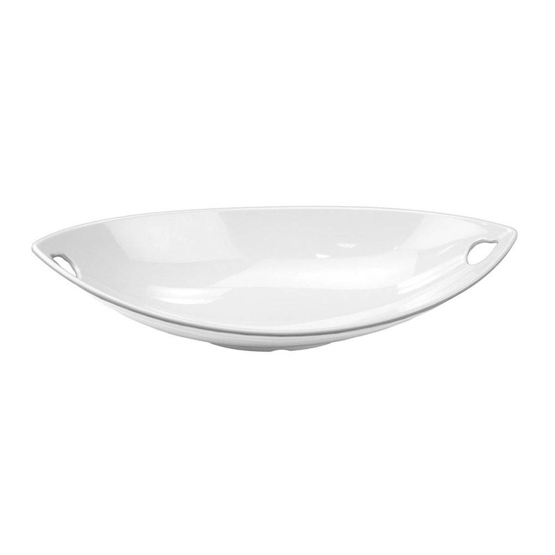 Travessa Canoa Oval Funda 40,6X18,4cm de Melamina Finger Food Gx5414 Houseware