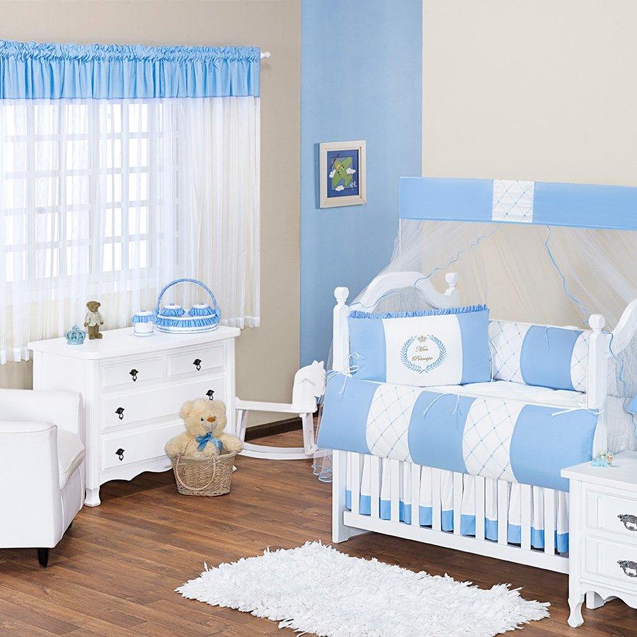 Quarto De Beb Meu Pr Ncipe Azul Tema Realeza Essencial Enxovais ~ Imagens De Quarto De Bebe Simples
