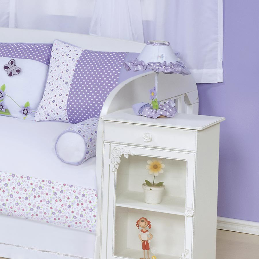 Cortina Happy Baby Branco Cl Ssico E Proven Al Cortina Para  ~ Quarto Lilás E Branco Com Quarto Neutro Para Bebe