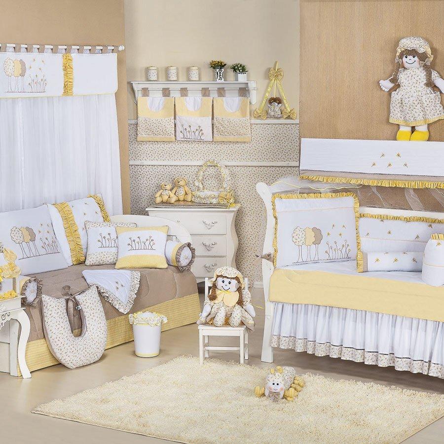 Cortina Giz De Cor Realeza C Qui Menina Branco Cortina Quarto  ~ Cortinas De Luxo Para Quarto E Quarto Amarelo E Branco