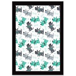 Quadro Decorativo Super Dog