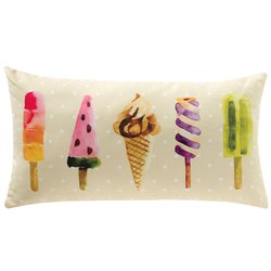 Almofada Decorativa Ice Cream Retangular