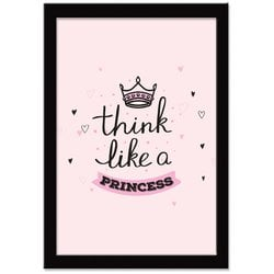 Quadro Decorativo Little Ballerina Princess