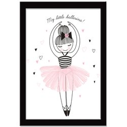 Quadro Decorativo Little Ballerina
