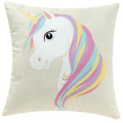 Almofada Decorativa Unicorn Beauty