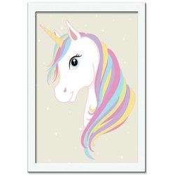 Quadro Decorativo Unicorn Beauty