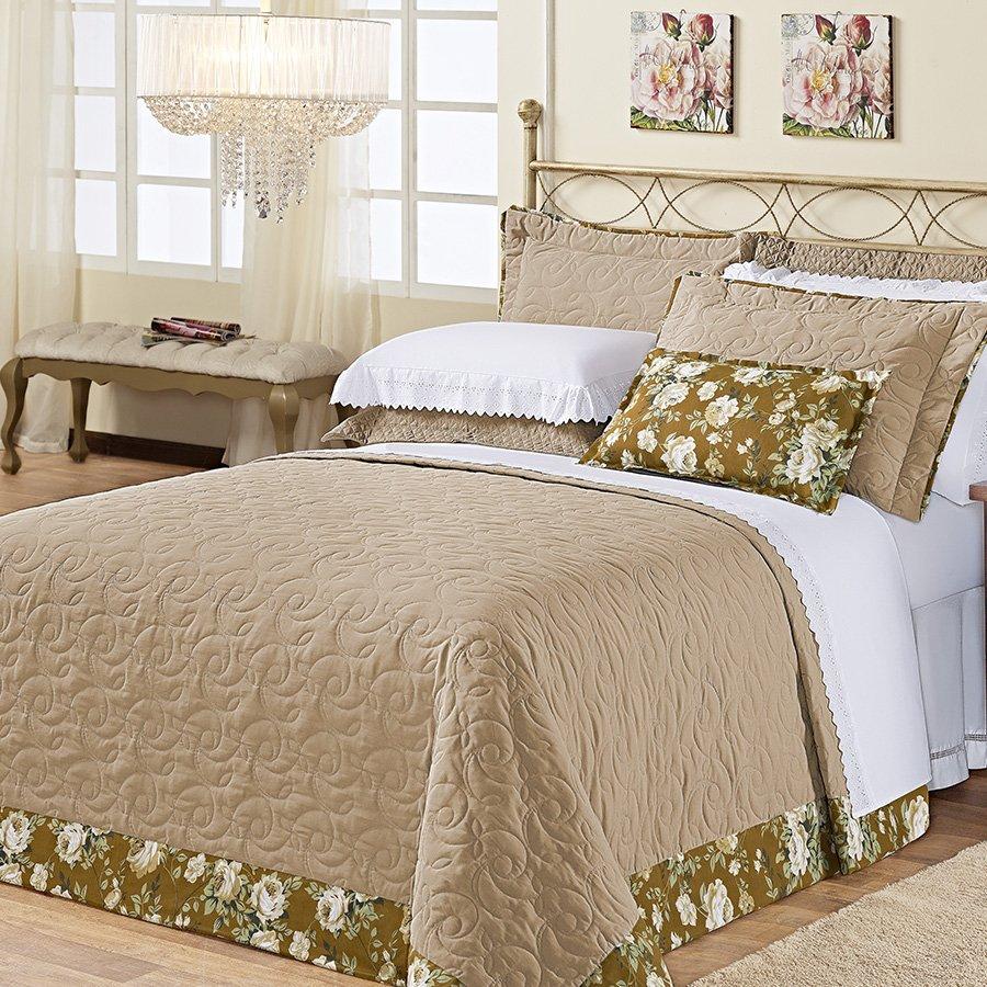 Cobre leito cama queen san marino c qui essencial enxovais for Cama king oferta