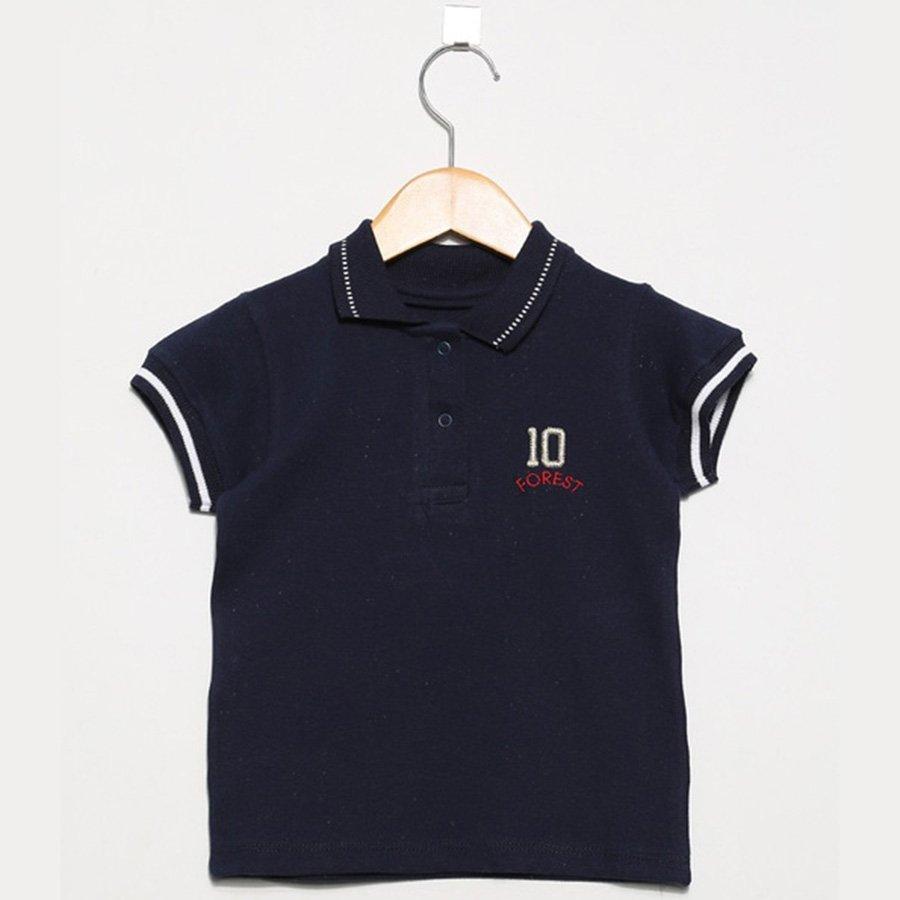 ce4cb85fc Camisa Infantil Polo Marinheiro Vermelho