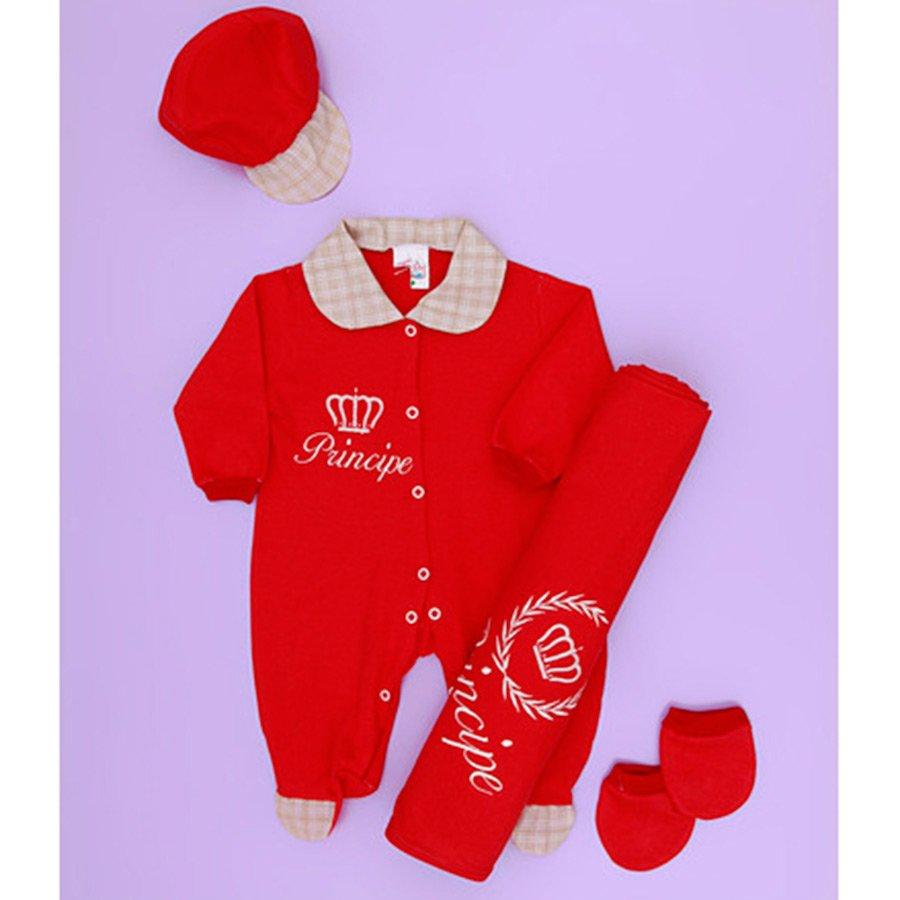 Saída Maternidade Pequeno Príncipe Azul  1697c3b2d9f