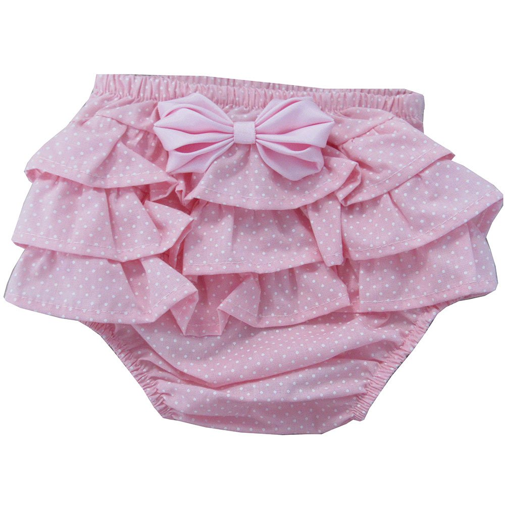 e879e6936 Calcinha de Bebê Floral Vermelho