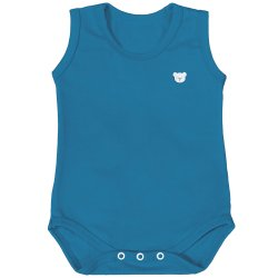 Body de Bebê Regata Basic Petróleo