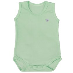Body de Bebê Regata Basic Verde