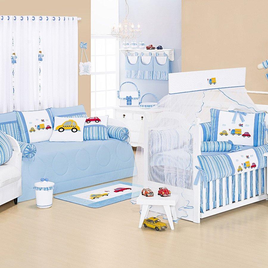 Quarto De Beb Completo Carrinhos Essencial Enxovais ~ Quarto Com Sofa Cama Com Quarto Decorado Menino