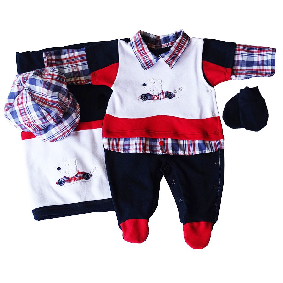 Saída de Maternidade Bebê Menino ou Menina   Essencial Enxovais 1d28b98060