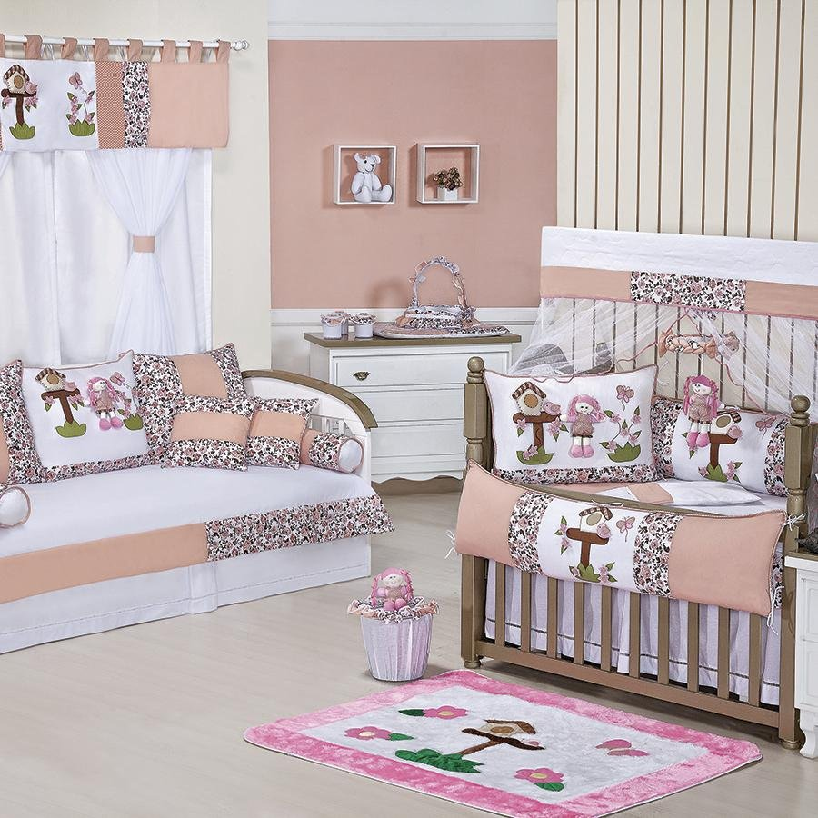 Quarto De Beb Completo Juju Salm O Essencial Enxovais ~ Imagens De Quarto De Bebe Feminino