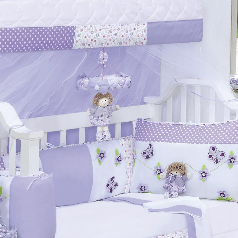 Cortina Talisma Cl Ssico E Proven Al Menina Palha Floral Cortina  ~ Quarto Lilás E Branco Com Quarto Neutro Para Bebe