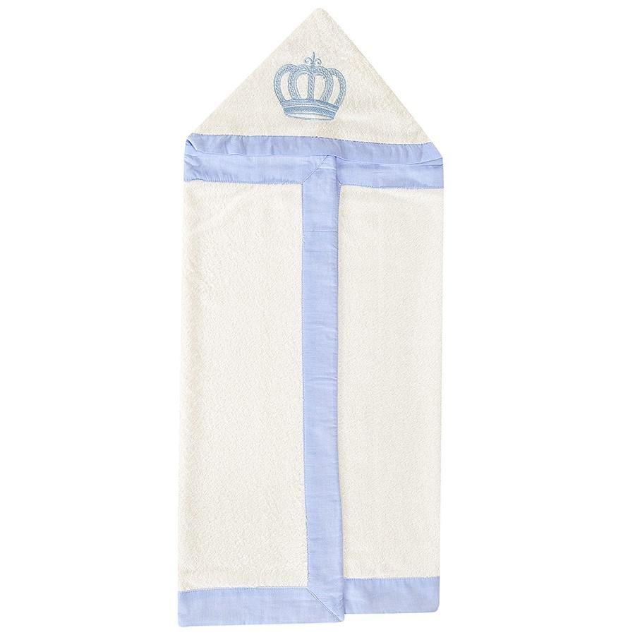 ed5fe5020f Toalha de Banho Bebê Majestade Azul