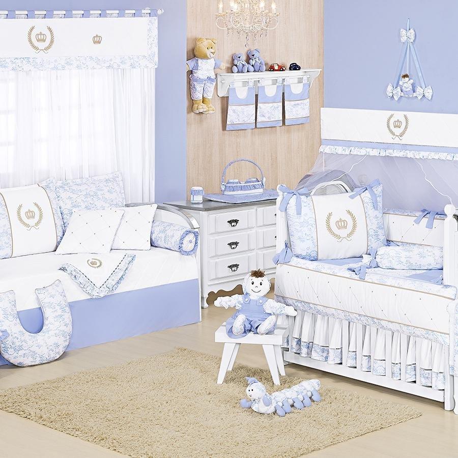Quarto De Beb Majestade Azul Essencial Enxovais ~ Quarto De Bebe Masculino Principe