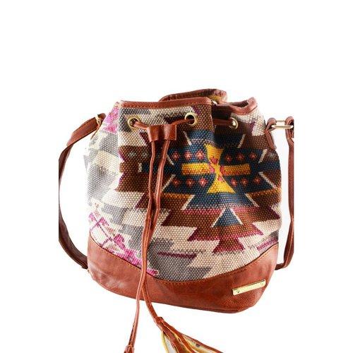 Bolsa Saco estampada C  Tassel - Compre Agora - Feira da Madrugada SP 735c1073e5c