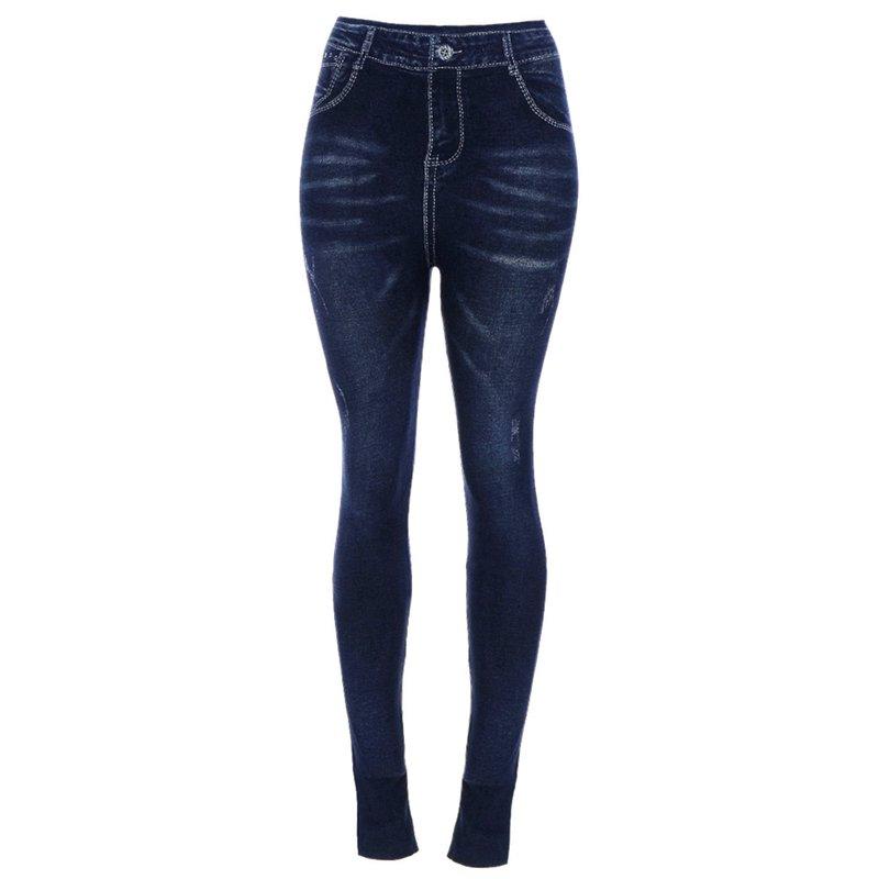 06329ab14 Calça Legging Fake Jeans   - Feira da Madrugada SP