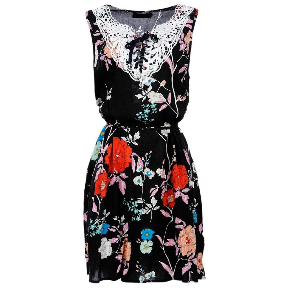4c291b745 Vestido Longo Estampa Floral Com Ombro Vazado - Compre Agora - Feira da  Madrugada SP